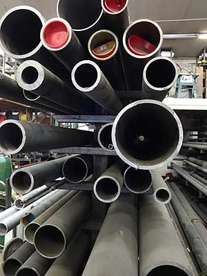 Tubing of many diameters available