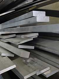 Steel flat inventory